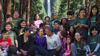 Obama Celebrates National Parks in Yosemite
