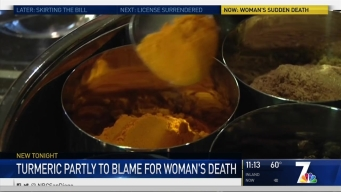 Tumeric Solution Through IV to Blame, in Part, for Woman's Death: ME