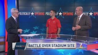 Politically Speaking: SDSU, SoccerCity Vy for Stadium Site