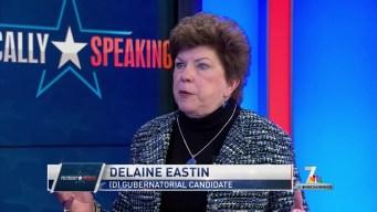 Politically Speaking: Gubernatorial Candidate Delaine Eastin