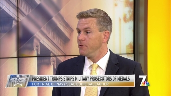 Politically Speaking: President Trump Strips Military Prosecutors Medals