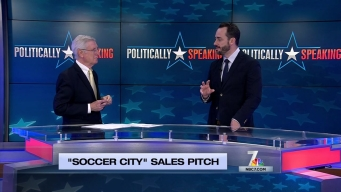 Politically Speaking: 'Soccery City' Sales Pitch