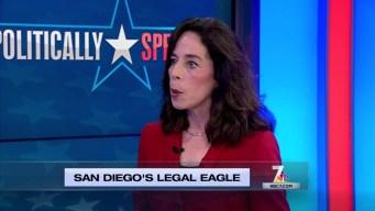 Politically Speaking: Mara Elliott, Pt. III