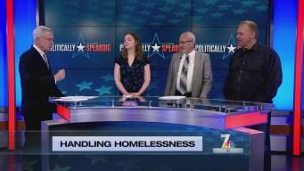 Politically Speaking: Handling Homelessness