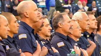 Padres Honor First Responders