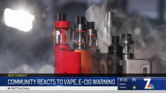 Parents Growing More Concerned Over Vaping Epidemic Among Teens