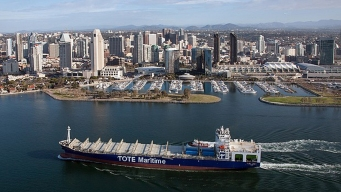 NASSCO's Newest Vessel Leaves Shipyard