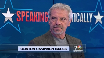 Politically Speaking: Clinton Campaign Issues