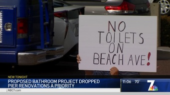 Protesters Clog IB Plan for BeachSide Public Bathroom