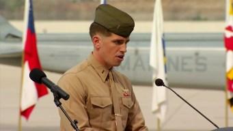 Killed Pilots Remembered at Camp Pendleton