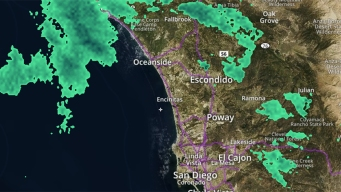 Winter Storm Brings Rain to San Diego