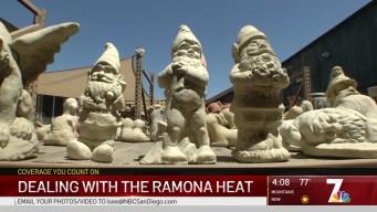 Ramona Heat Gets Close to Triple Digits
