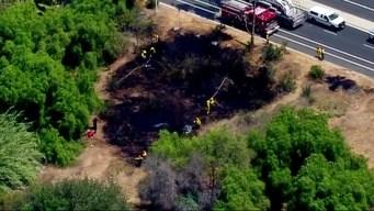 Brush Fire Breaks Out Near Cuyamaca College