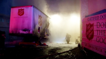 1 Detained in Salvation Army Fire