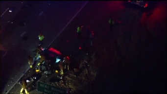 I-805 Crash Snarls Morning Commute