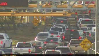 SB I-5 Closed at Border for Construction