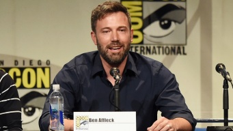 Ben Affleck Goes to Comic-Con