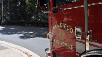 Small Brush Fire Sparks in Otay Mesa Canyon