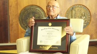 105-Year-Old SDSU Graduate Receives College Diploma