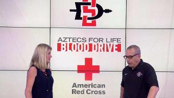 SDSU Hosts Blood Drive for Red Cross