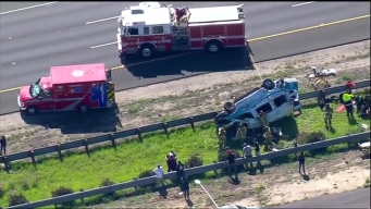 4 Hurt in SR-54 Rollover Crash