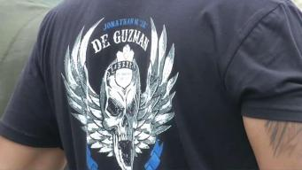 SWAT Honors Fallen Officer with T-shirts