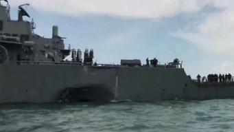 Sailors' Remains Found in Ship Collision