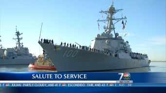 Salute to Service: USS Kidd and USS Pinckney