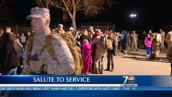 Salute: Marines Deploying to Afghanistan
