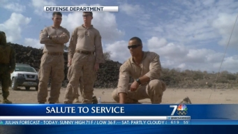 Salute: Marine, Navy EOD Teams