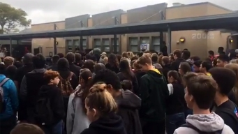 Patrick Henry HS Students Deliver Emotional Speeches During National Walk Out