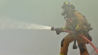 Small Brush Fire Reported Along I-805