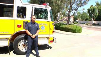 San Diego Fire Crew Retunrs from Ferguson Fire