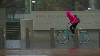 Heavy Pockets of Rain Sweep Quickly Through San Diego