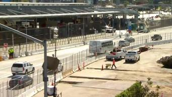 San Ysidro Border Construction Finishes Early