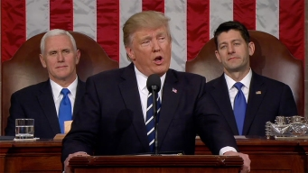 Trump Discusses Borders, Defense During Address to Congress