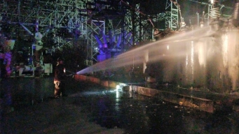Explosion, Fire at Power Substation Causes Blackout in Puerto Rico