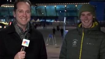 Ramona Snowboarder Describes 'Daunting' Halfpipe at Olympics