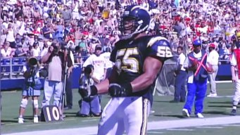 Chargers Linebacker Junior Seau Game Highlights