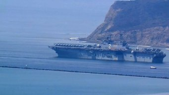 Crews of 3 Ships Leave San Diego