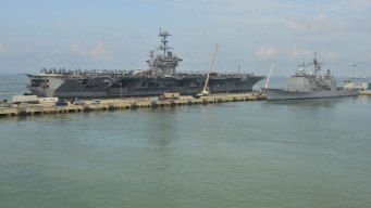 USS George Washington to Arrive in Coronado