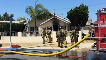 2 Dogs Rescued from Burning Southcrest Home