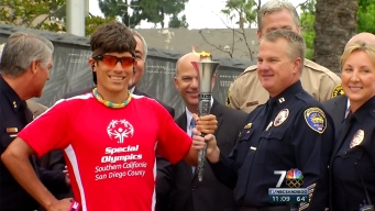 Special Olympics Lighting of the Torch