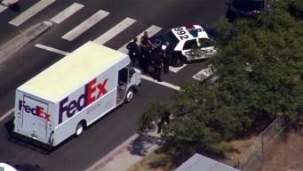 San Diego Police Track Down Stolen FedEx Truck