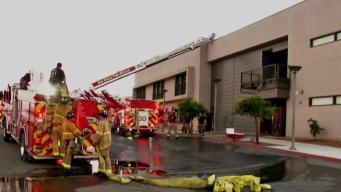 Students Help Save South Bay School From Fire