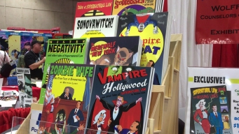 Quirky Comic Books at Comic-Con