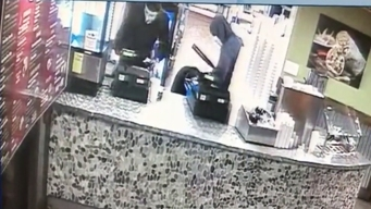 Surveillance Video Captures Lemon Grove Restaurant Robbery