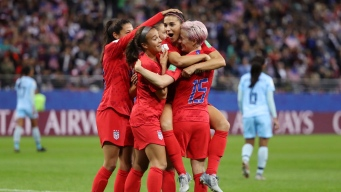 U.S. Women's Soccer Team Rolls to Record Setting 13-0 Win Over Thailand in World Cup Opener