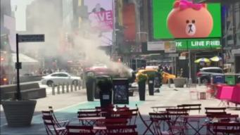 Times Square Crash Leaves One Dead