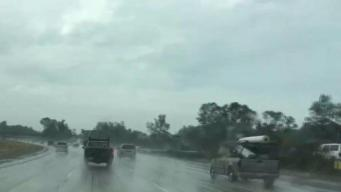 Thunder and Lightning Follows Morning Rain Across San Diego